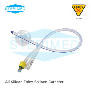 All Silicon Foley Balloon Catheter