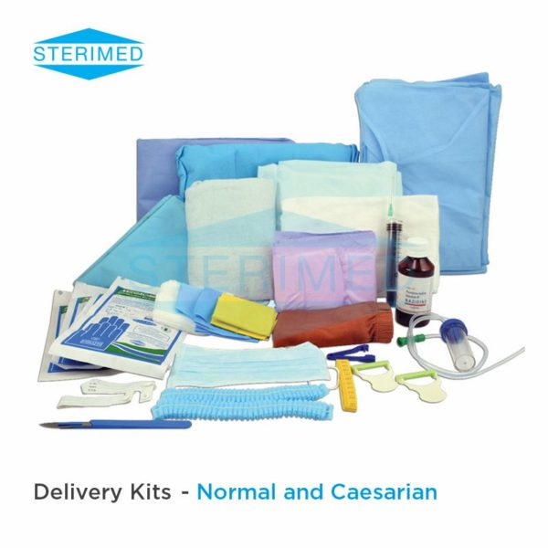Delivery Kits - All About Safe Child Birth, Normal and Caesarian
