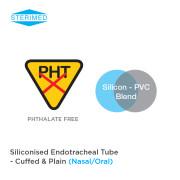 Siliconised Endotracheal Tube – Cuffed & Plain