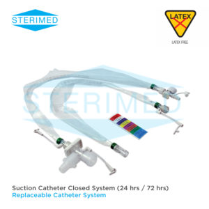 Suction Catheter Closed System (24 hrs / 72 hrs)