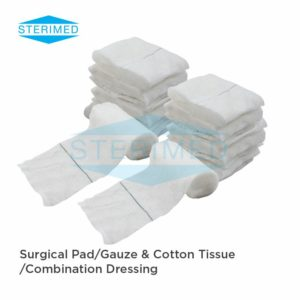 Surgical Pad/Gauze & Cotton Tissue /Combination Dressing