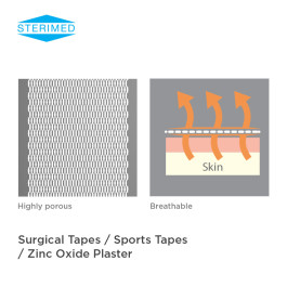 Surgical Tapes / Sports Tapes / Zinc Oxide Plaster