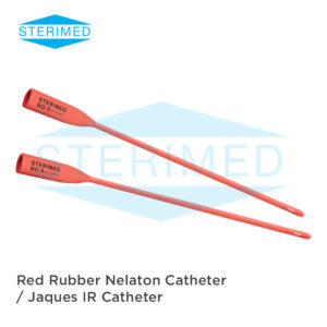 Red Rubber Nelaton Catheter / Jaques IR Catheter